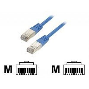 Black Box CAT5 network cable - 3 ft - blue