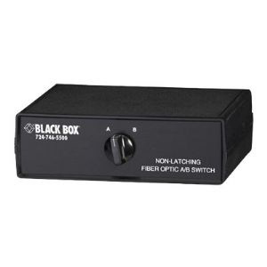 Black Box Fiber Optic A/B Switch Non-Latching with