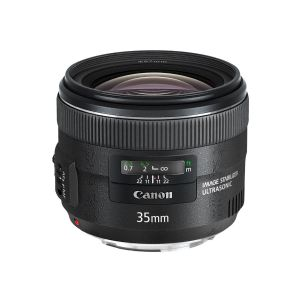 Canon EF wide-angle lens - 35 mm
