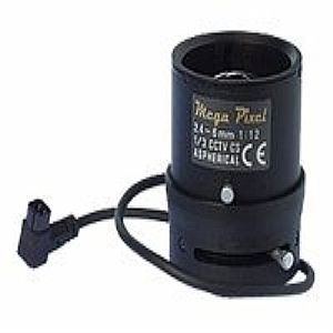 VARIFOCAL MEGAPIXEL LENS-2.4-6MM