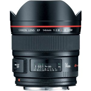 CANON EF 14MM LENS F/2