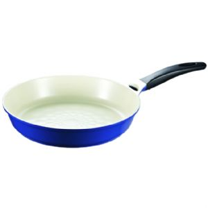 Cookplus Ceramic Frying Pan Blue 11.8-Inch