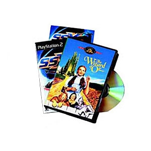 Fellowes 5-Pack DVD Jewel Case (Movie Size) (83357