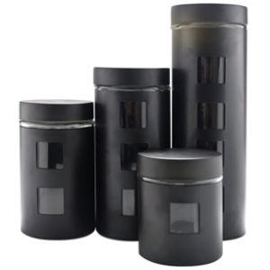RAGALTA Glass Canister Set - RCA-054B