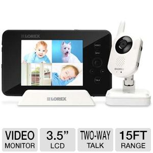Lorex Wireless Camera w/ Portable Monitor - $144.49 after coupon