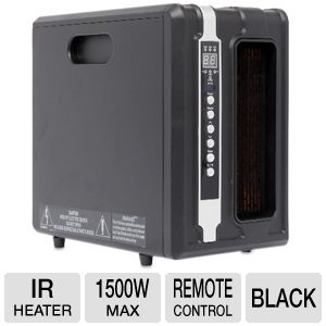 Lifesmart 1500 Watt Quartz IR Heater  - $49.97 after coupon
