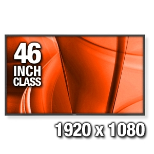 NEC X461HB 46 Large Widescreen Commercial LCD Fla