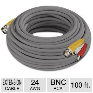 Night Owl 100 ft. Camera Extension Cable