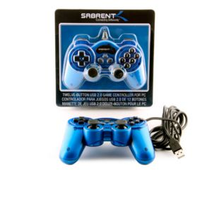 Sabrent USB Game Controller For PC - USB-GAMEPAD