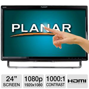 Planar 24 1080p Multi-Touch LED Speakers HDMI
