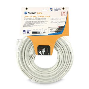 Swann Pro 50FT/15M BNC to BNC Cable - SW271-S15