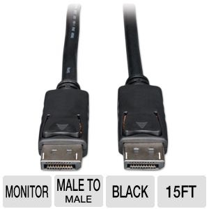 Tripp-Lite 15ft DisplayPort Monitor Cable