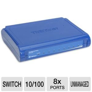 TRENDnet 8-Port Switch