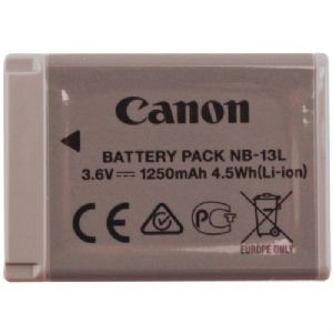 Canon Battery Pack NB-13L – Camera battery Li-Ion 1250 mAh – for Power