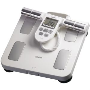 OMRON HBF-510W FULL-BODY SENSOR BODY COMPOSITION MONITOR and SCALE (WH