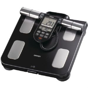 OMRON HBF-516B FULL-BODY SENSOR BODY COMPOSITION MONITOR and SCALE (BL