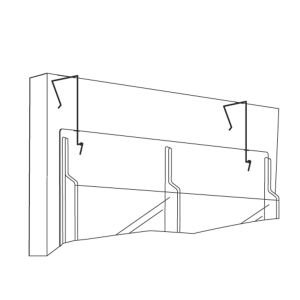 Display Wire Hanger