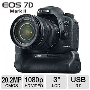 Canon EOS 7D Mark II Body With 18-135mm Zoom Lens