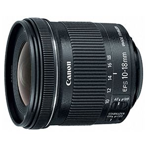Canon EF-S Wide-Angle Zoom Lens – 10 mm – 18 mm f/4.5-5.6 IS STM Super