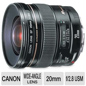 Canon EF wide-angle lens - 20 mm