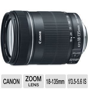 Canon EF-S zoom lens - 18 mm - 135 mm