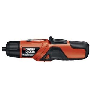 Black & Decker Pd400lg Rechargeable Screwdriver - 2-Ppositions Pivotin