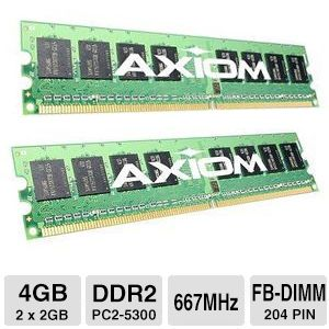 Click here for Axiom 4GB ( 2 x 2GB ) DDR2 SDRAM Memory Modules prices