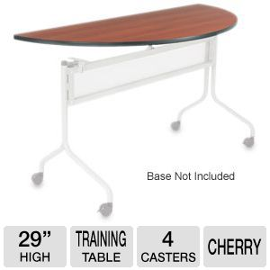 Mobile Training Half Round Table Top only (Base So