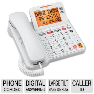 AT&T® CL4940 Corded Speakerphone with Di