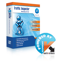 TRAFFIC INSPECTOR GOLD 75 + KASPERSKY GATE ANTIVIR - More Info