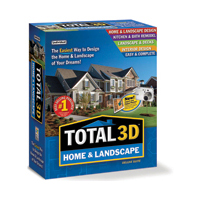 TOTAL 3D HOME AND LANDSCAPE DESIGN SUITE 9.0 - More Info