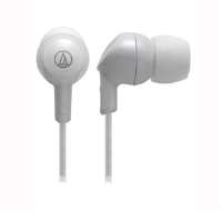 Audio-Technica ATH-CK1WWH In-Ear Headphones - 8.8 mm Drivers, Lightweight Design, White for sale Now