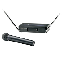 Audio-Technica ATW-252-T2 Wireless Microphone System - Wireless Receiver ATW-R250 &  Handheld Microphone / Transmitter ATW-T202-T2, Advanced Dipole Antenna System for sale Now