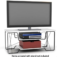 Atlantic 88335661 Uptown Metallic TV Stand 50 TVs - More Info