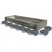 Iogear 8-Port KVM Switch with Cables Kit for sale Now