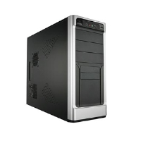 Apex PC-389 ATX Black Mid Tower Case - More Info
