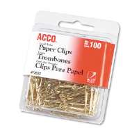 CLIP,#2,GOLD TONE,1C/BX - More Info