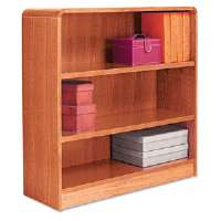 BOOKCASE,RAD,3S 36X36,MOK - More Info