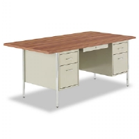 DESK,DBL PED 72X36,PTY - More Info