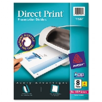 DIVIDER,LASER,8TAB,4ST/PK - More Info