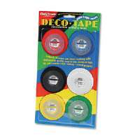 TAPE,DECO,1/8W,AST,6/PK - More Info