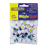 EYES,WIGGLE,100/PK,AST - More Info