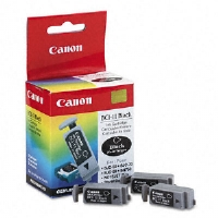 Canon Ink Cartridge BCI11BK (BCI-11) Ink Tank, 60 Page-Yield, 3/Pack, Black