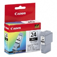 Canon Ink Cartridge BCI24BK (BCI-24) Ink Tank, 520 Page-Yield, Black