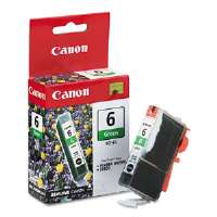 Canon Ink Cartridge BCI6G (BCI-6) Ink Tank, 370 Page-Yield, Green