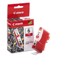 Canon Ink Cartridge BCI6R (BCI-6) Ink Tank, 370 Page-Yield, Red