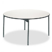 Samson Series Premium Commercial Table, Round, 60dia. x 29-3/4h, Off-White - More Info