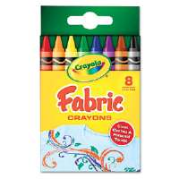 CRAYON,FABRIC,8ST,AST - More Info