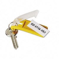 TAG,KEY,6/PK,YEL - More Info