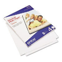 Premium Photo Paper, 68 lbs., High-Gloss, 8-1/2 x 11, 25 Sheets/Pack - More Info